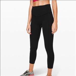 Lululemon All the right places cropped leggings